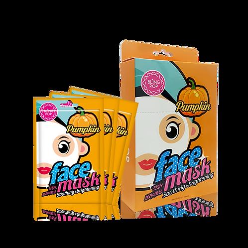 BLINGPOP Pumpkin Soothing & Brightening Mask UNIDOSIS