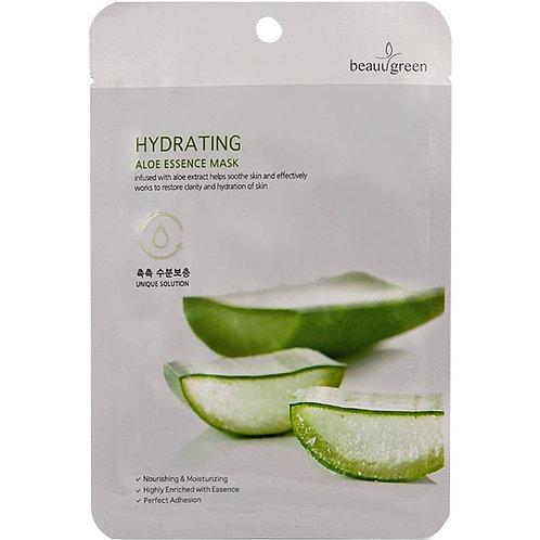 BEAUU GREEN Máscara facial essence hidratante ALOE