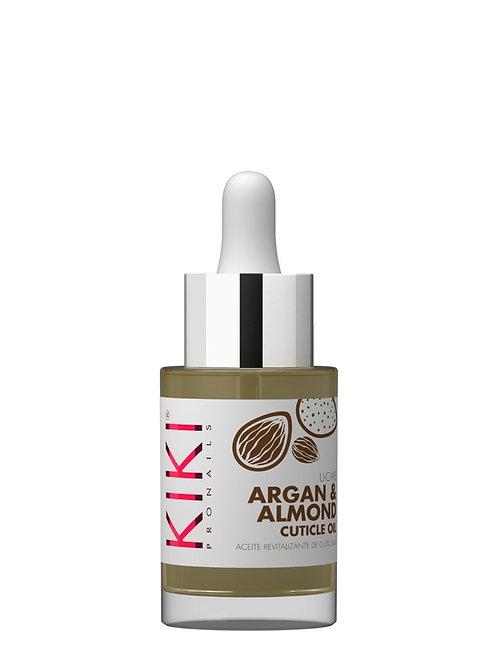 KIKI REVITALIZING CUTICLE OIL - Aceite de Cuticulas Argan & Almendras - 30 ml