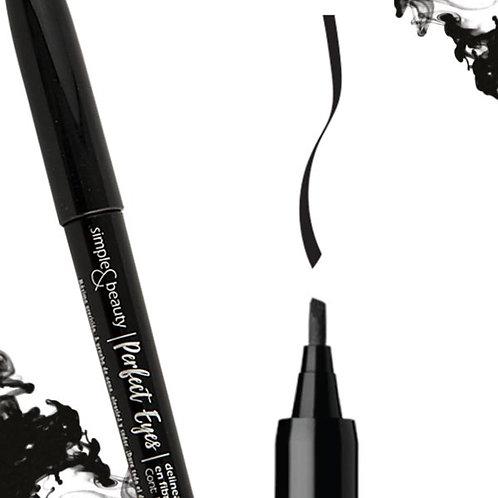 SIMPLE & BEAUTY Delineador de ojos en fibra CINCEL