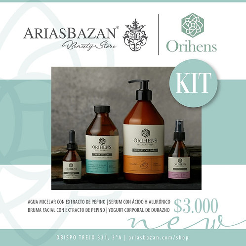 ORIHENS KIT COMPLETO 4 PRODUCTOS