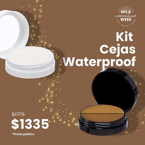 MILA Kit Cejas Waterproof