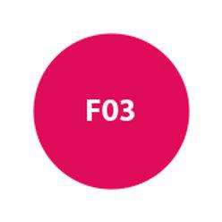 MILA Sombra Compacta (Repuesto) Fucsia Intenso Mate F03