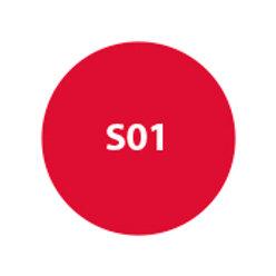 """MILA """"Sombra Compacta (Repuesto) Rojo Granate Metalizado- Apta HD """" S01"""