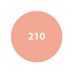 MILA Rubor Compacto Anaranjado claro semi - mate 210