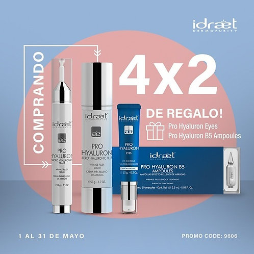 IDRAET 4x2 Kit Pro Hyaluron