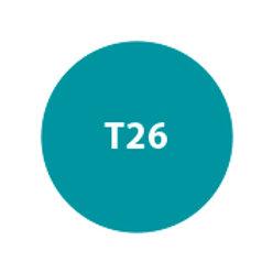 MILA Sombra Compacta Pro Tratante (Repuesto) Celeste Tornasol Satinado T26