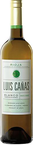 Rioja DOC. Luis Canas. Blanco white