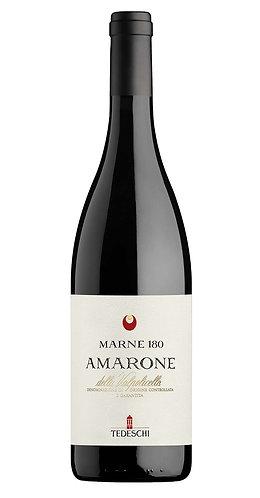 Amarone della Valpolicella DOCG. Tedeschi. Marne 180 rosso