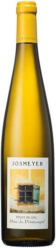 "Alsace AOC. Josmeyer. Pinot Blanc ""Mise du  Printemps"""