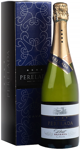 Cava DO. Perelada. Brut Reserva in gift box