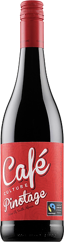 Western Cape WO. Cafe Culture Pinotage red sec