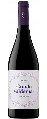 Rioja DOC. Conde Valdemar. Tempranillo