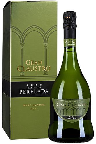 """Cava DO. Perelada. """"Gran Claustro"""" Brut Nature  in gift box"""