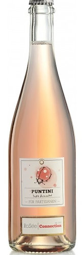 Puntini. Rosee Connection perlwein extra brut rose