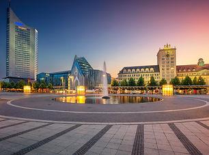 Leipzig, Germany. Cityscape image of Lei