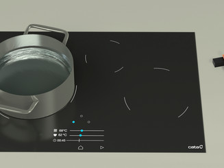 Black - Induction Cooktop