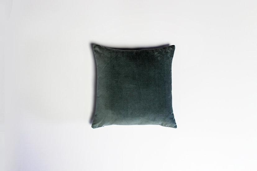 Slate Green Velvet