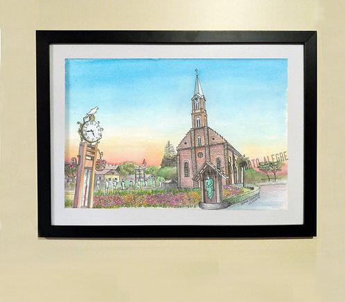 Quadro - Igreja São Pedro (Gramado, RS)
