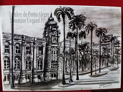 Kit com cinco cartões postais - Praça da Alfândega