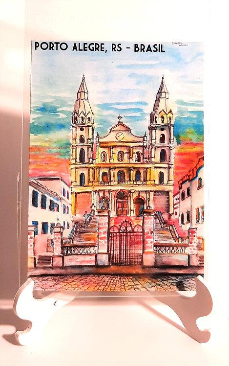Kit com cinco ímãs  - Igreja Nossa Senhora das Dores