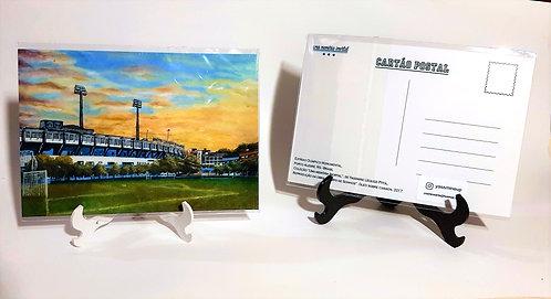 Kit com cinco cartões postais - Campo de Sonhos