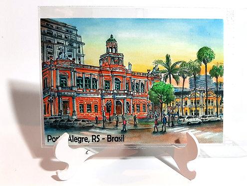 Kit com cinco ímãs  - Prefeitura Municipal de Porto Alegre (n.42)