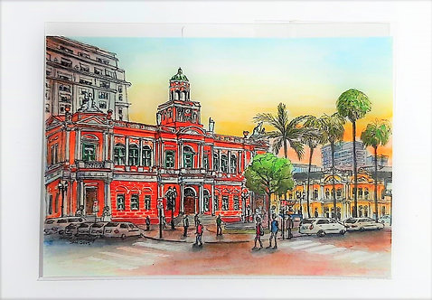 Kit com cinco cartões postais -  Prefeitura Municipal de POA