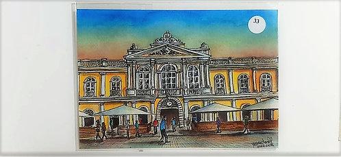Kit com cinco cartões postais - Mercado Público