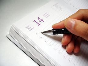 writing-in-an-agenda-1428799.jpg