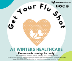 Come and get your flu shot!