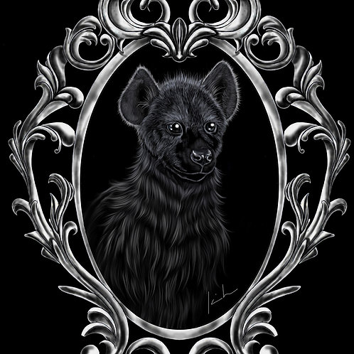 Spotted Hyena Mens T-Shirt