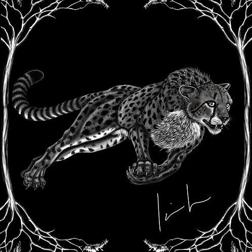 Cheetah Mens T-Shirt