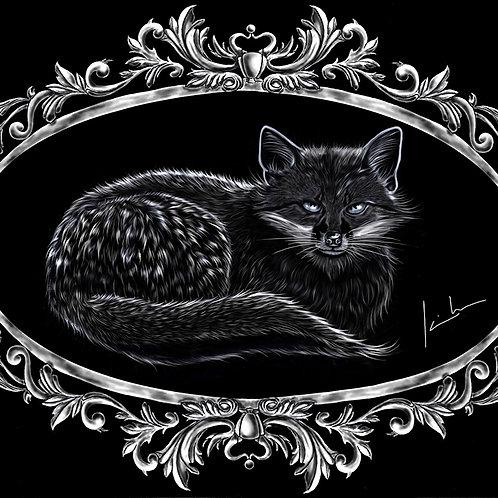 Gray Fox Mens T-Shirt