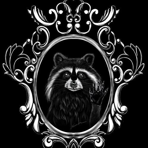 Raccoon Mens T-Shirt
