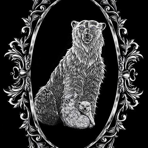 Polar Bear Mens T-Shirt