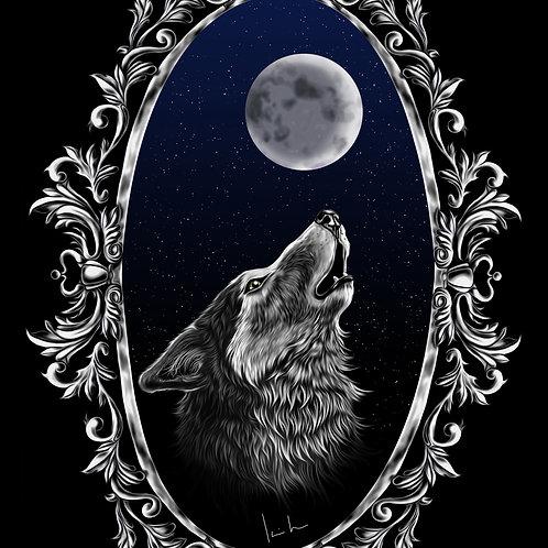 Gray Wolf Mens T-Shirt