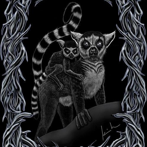 Ring Tailed Lemur Mens T-Shirt