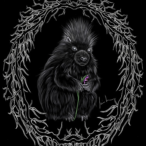 Porcupine Mens T-Shirt