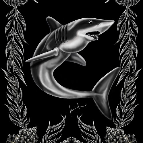 Mako Shark Mens T-Shirt