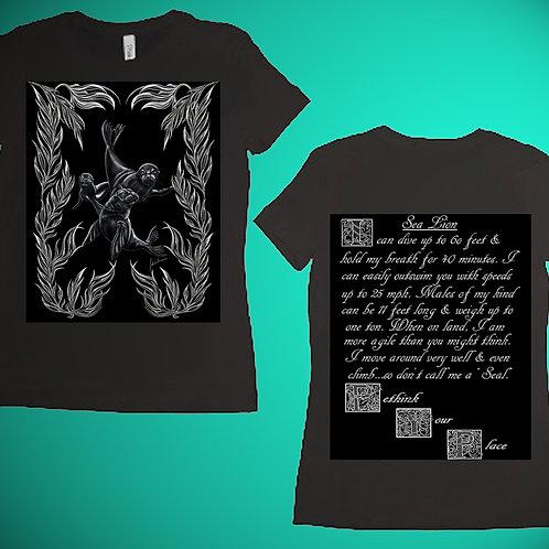 Sea Lion Womens T-Shirt