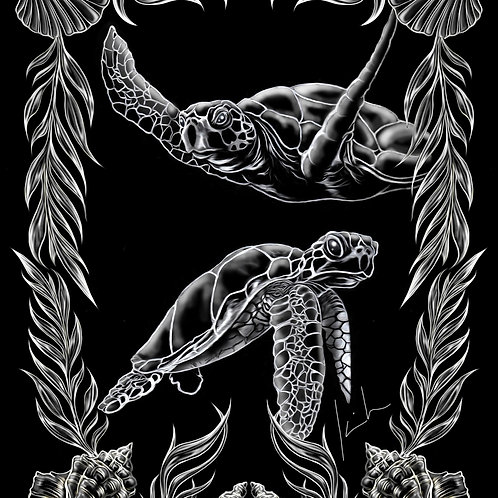 Green Sea Turtle Mens T-Shirt