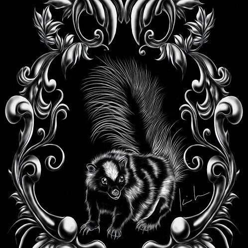 Spotted Skunk Mens T-Shirt