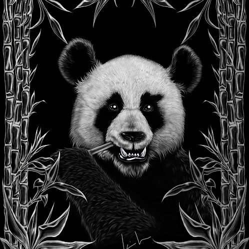 Giant Panda Mens T-Shirt