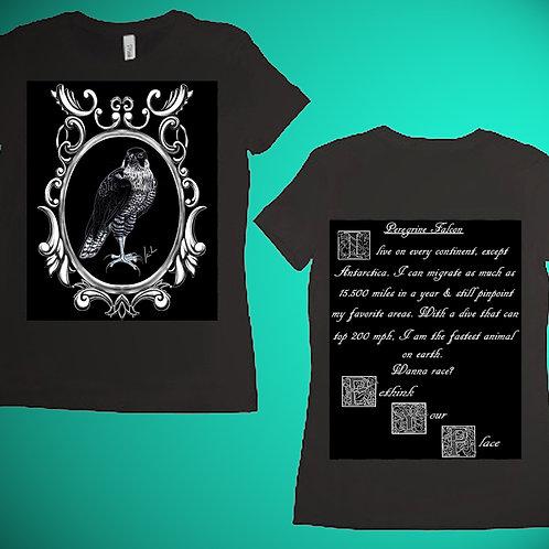 Peregrine Falcon Womens T-Shirt