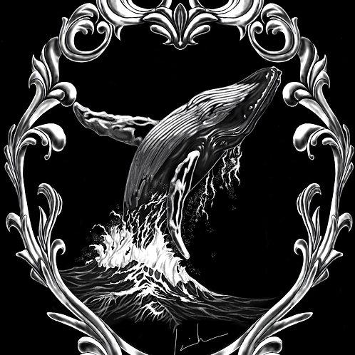 Humpback Whale Mens T-Shirt