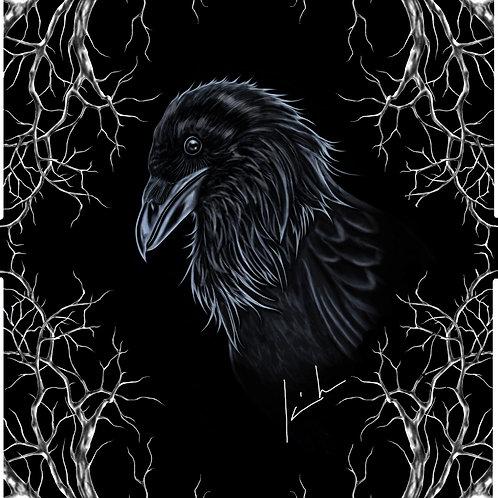 Common Raven Mens T-Shirt