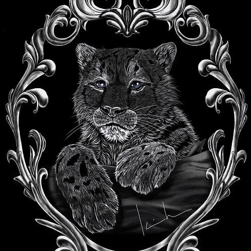 Snow Leopard Mens T-Shirt