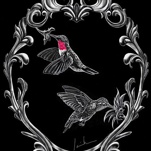 Hummingbirds Mens T-Shirt