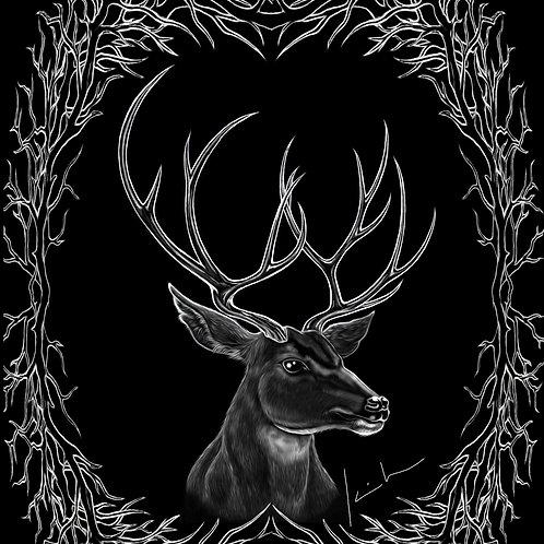 Mule Deer Mens T-Shirt